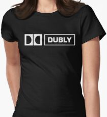 "This is Spinal Tap Dolby ""Dubly""  Women's Fitted T-Shirt"