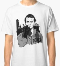 Ghostbusters Peter Venkman Bill Murray illustration Classic T-Shirt
