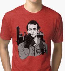 Camiseta de tejido mixto Cazafantasmas Peter Venkman Ilustración de Bill Murray