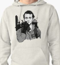 Ghostbusters Peter Venkman Bill Murray illustration Pullover Hoodie