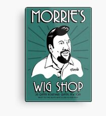 Goodfellas, Morrie's Wigs Shop Sign T-shirt  Metal Print