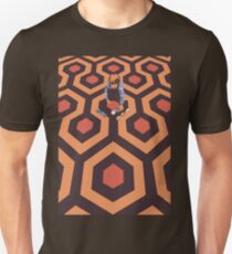 The Shining Screen Print Movie Poster  T-Shirt