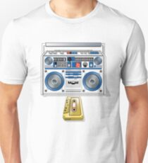 Retro Star Wars Boom box/Ghetto Blaster R2-D2 C-3PO Unisex T-Shirt