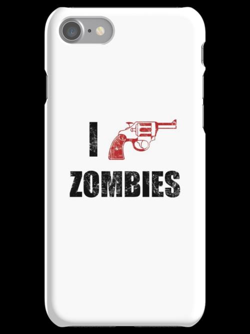 I Shotgun Zombies/ I Heart Zombies  by Creative Spectator