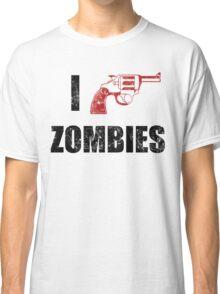 I Shotgun Zombies/ I Heart Zombies  Classic T-Shirt