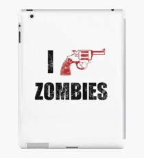 I Shotgun Zombies/ I Heart Zombies  iPad Case/Skin