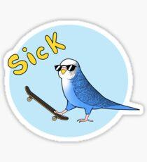 Skate Birder Sticker