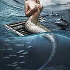 Blonde Mermaid by Swede