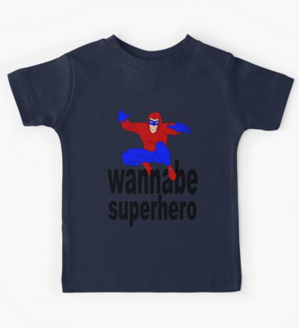wannabe superhero 1 Kids Clothes