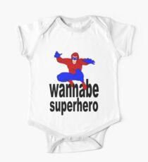 wannabe superhero 1 One Piece - Short Sleeve