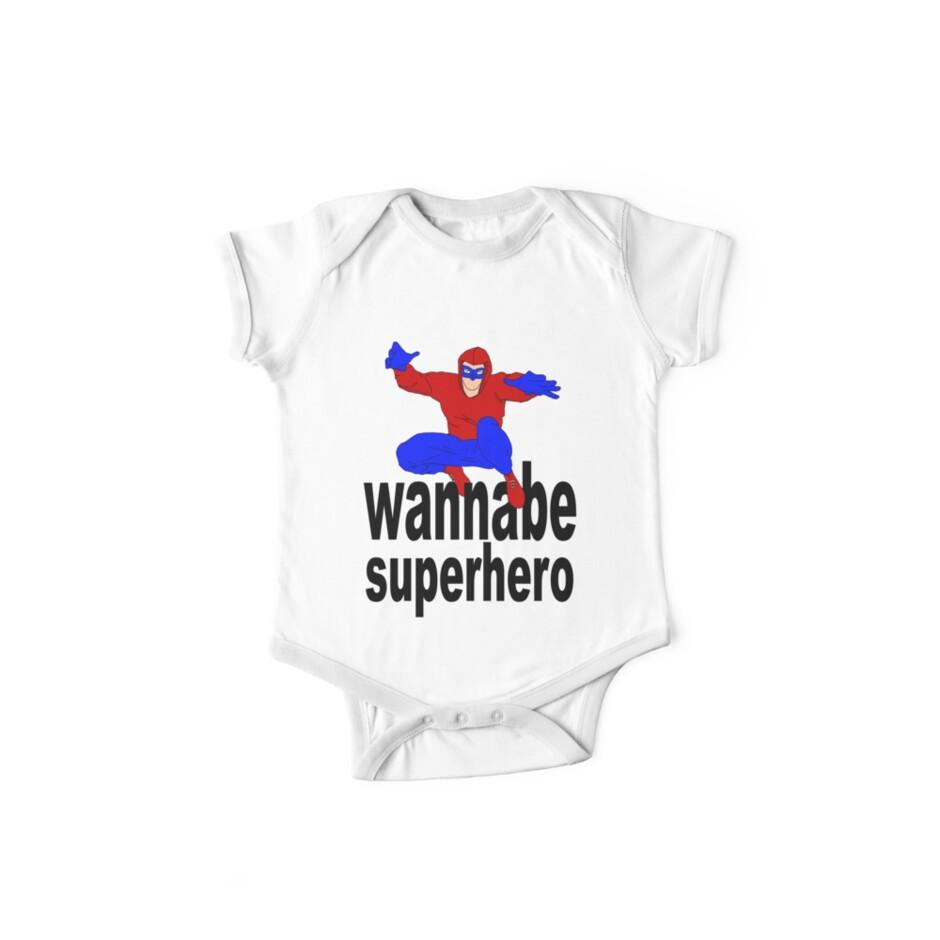 wannabe superhero 1 by IanByfordArt