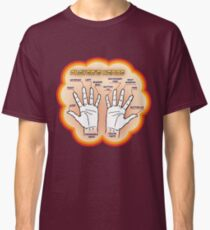The player's hands. Classic T-Shirt