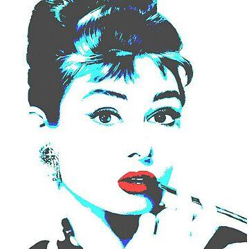 Audrey Hepburn by LiseBriggs