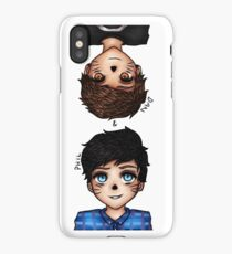 Anime Dan and Phil iPhone Case/Skin