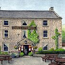 Charles Cotton Hotel, Hartington by Brian Hargreaves