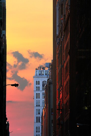 NEW YORK SUNSET by GDhillon