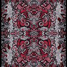 Red Spiral (posters and prints) by Steven De Kock