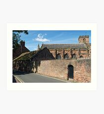 Carlisle Cathedral Art Print