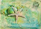seaside postcard by Teresa Pople