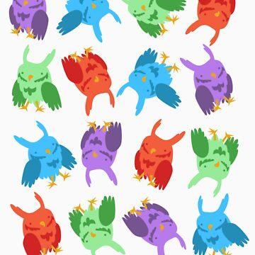owls owls owls owls by jaffajam