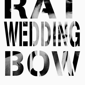 Rat. Wedding. Bow. by vivianz