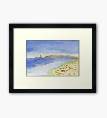 A stunning view of Cabo de Palos. Framed Print