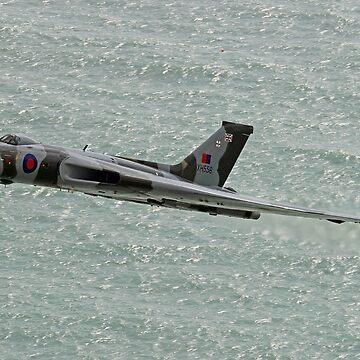 Vulcan XH558 from Beachy Head 4 by Arrowman