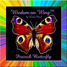 Peacock Butterfly-Wisdom on Wing™ by Liane Pinel