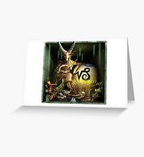 Ecce Homo 125 - THE ZODIAC - 1. Capricorn Greeting Card
