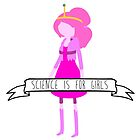Princess Bubblegum - Science is for Girls by shopffs