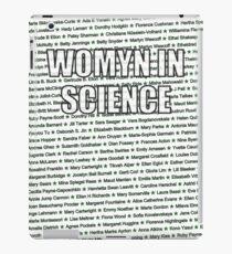 Womyn In Science iPad Case/Skin