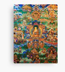 Buddha Life Story Canvas Print