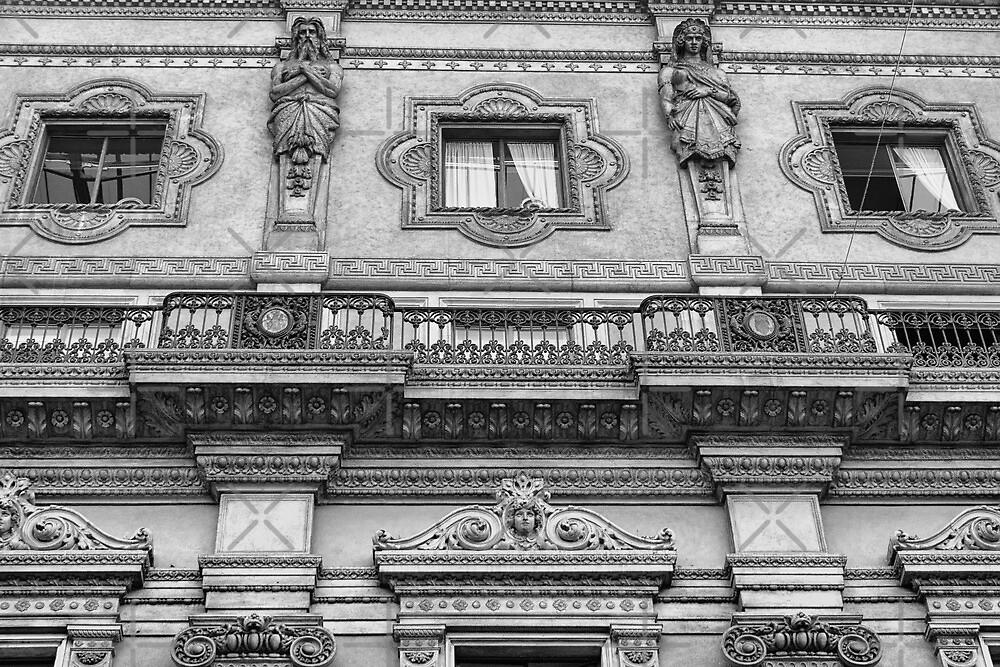 Zooming around Galleria Vittorio Emanuele II by CreaRestless