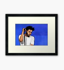Cole World Framed Print