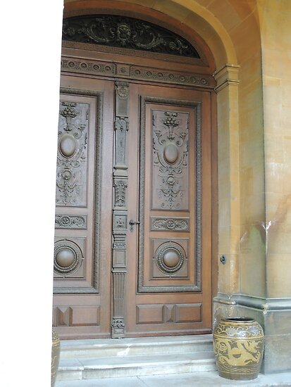 Waddesdon Door by CreativeEm