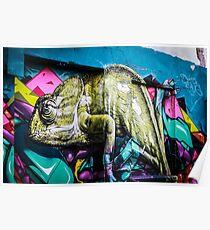 Bold street graffiti  Poster