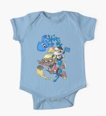 Splatoon - Yellow V.S. Blue Kids Clothes