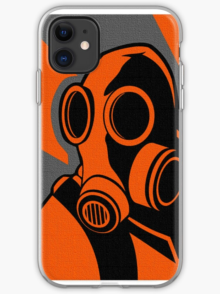 Team Fortress 2 Pyro iphone case