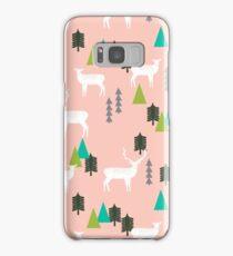 Reindeer Forest - Blush by Andrea Lauren Samsung Galaxy Case/Skin