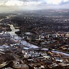 Glasgow and the River Clyde by Bill Crookston