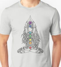 Yoga Om Chakras Mindfulness Meditation Zen 1 Slim Fit T-Shirt