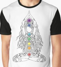 Yoga Om Chakras Mindfulness Meditation Zen 1 Graphic T-Shirt