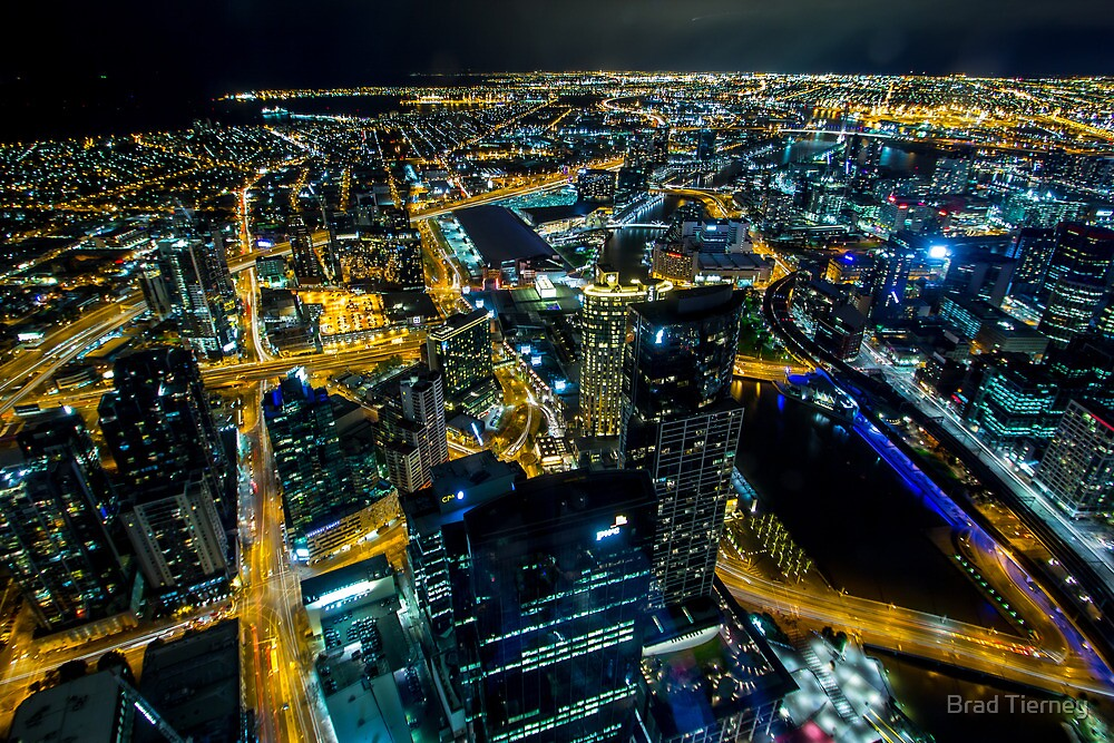 Melbourne on High by Brad Tierney