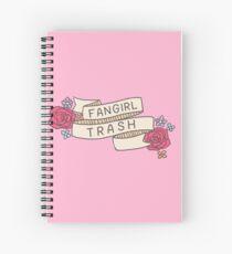 Fangirl Trash Spiral Notebook