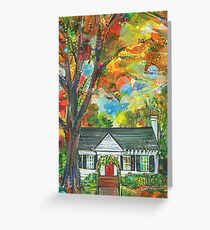 Tough house painting - 2015 Greeting Card