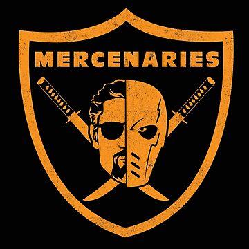 Mirakuru Mercenaries by kentcribbs