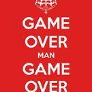 Game Over Man - White by AledIR