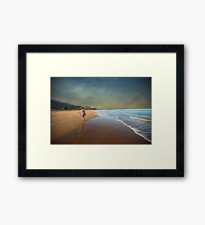 Steps in Solitude Framed Print