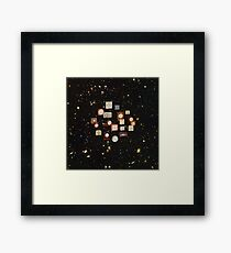 Space-time Framed Print