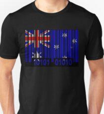 Australia Barcode Flag T-Shirt